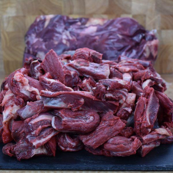 stückiges Pferdefleisch 5 Kg