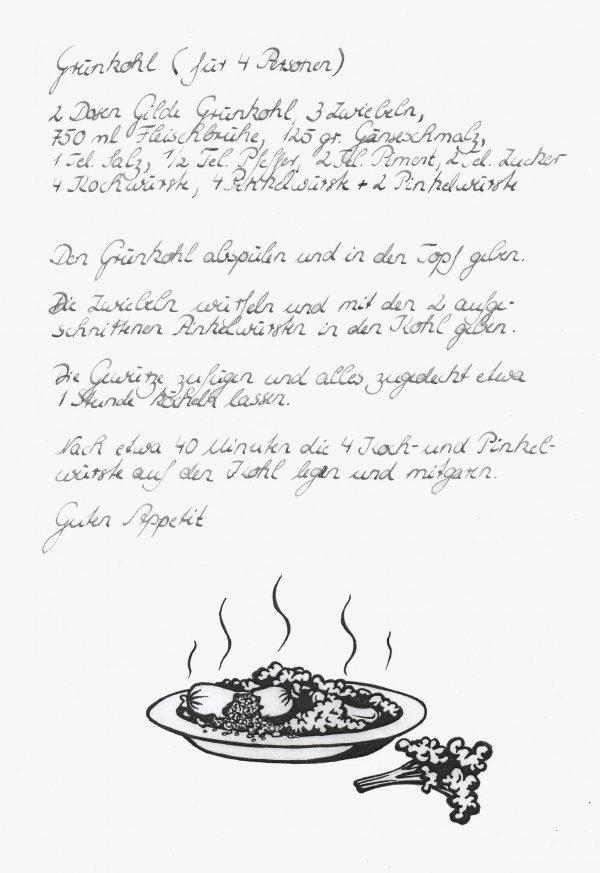 Rezept für Bremer Kohl und Pinkelessen