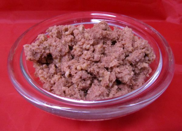 Pferdefleisch mit Hirse. Lebbensmittel auch als hundefutter geeignet.