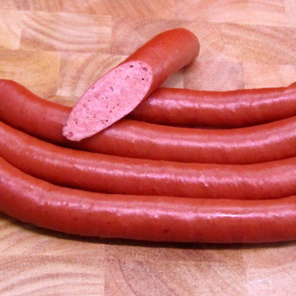 Vegesacker Würstchen nur aus Pferdefleisch.